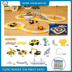Đồ chơi trẻ em- Đồ chơi lắp ghép đường ray ô tô, tàu hỏa cho bé giúp kích thích phát triển trí tuệ trẻ.