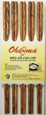 Bộ 10 đũa gỗ dừa Ohi@ma