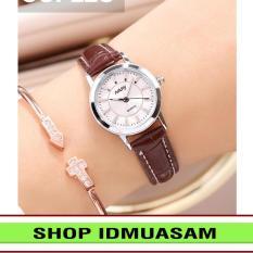 [Có video quay thật] Đồng hồ nam nữ dây da thời trang Nary IDMUASAM S3571 (Nhiều màu lựa chọn)