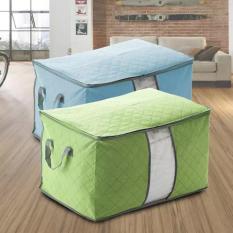 Túi đựng chăn màn quần áo kiểu ngang ( Xanh lá ), túi đựng đồ dùng du lịch, phụ kiện phòng ngủ, túi đựng lưu trữ. Tuancua