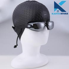 Mũ bơi nón bơi cao su có gai sần Hàn Quốc Phoenix cao cấp Kante Store