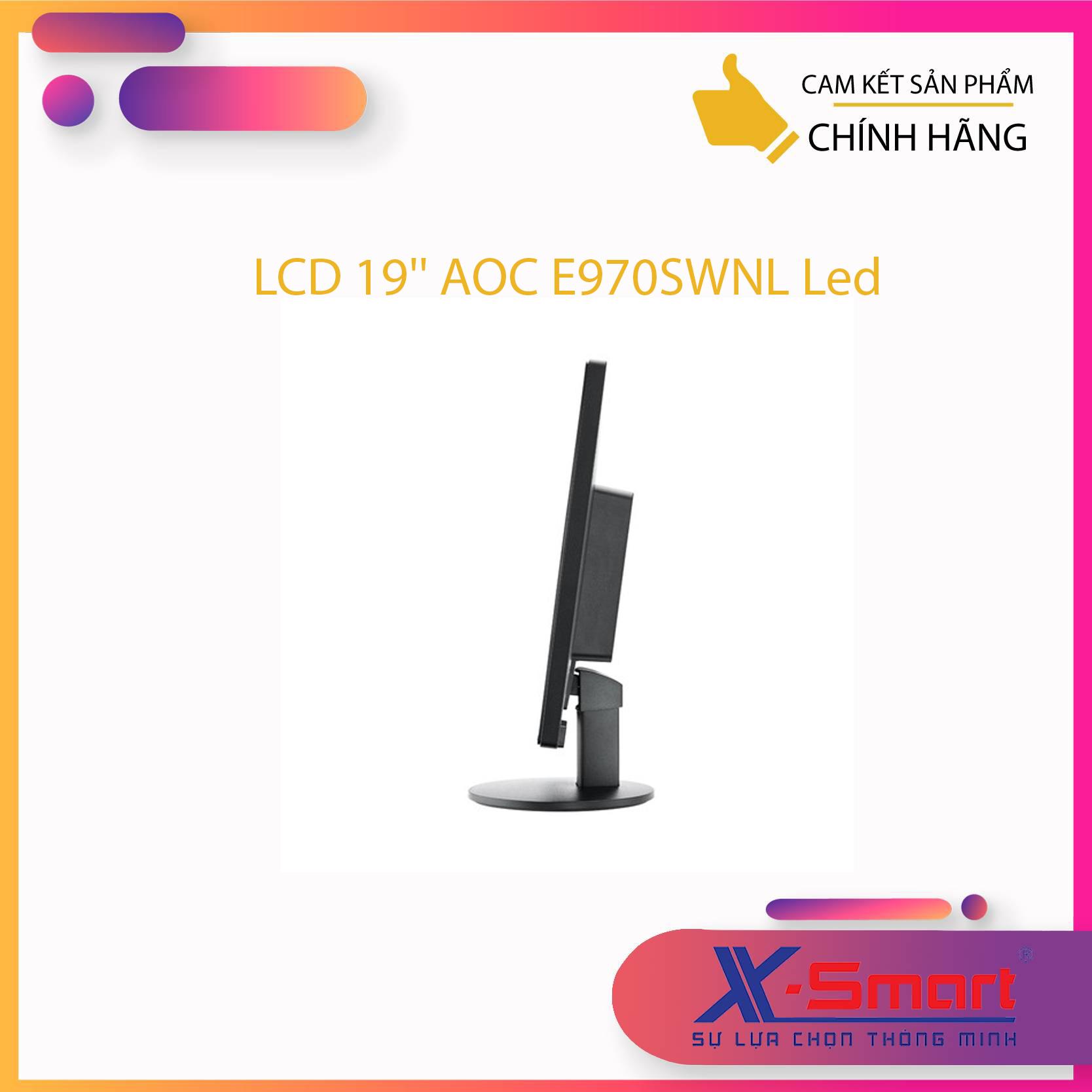 Màn hình AOC E970SWNL 18.5Inch LED- Hàng Chính Hãng