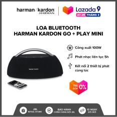 [VOUCHER 500K – TRẢ GÓP 0%] Loa Bluetooth Harman Kardon Go + Play mini l 4 Driver công suất khủng 100W l Pin 2200 mAh l Nghe nhạc liên tục 8h