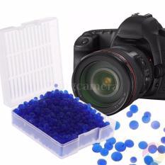 Hộp 50g hạt hút ẩm XANH cho máy ảnh