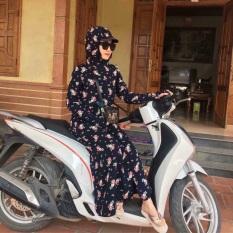 Áo chống nắng toàn thân 2 lớp vải lanh Nhật cực bền ( mềm, nhẹ, thoáng mát)