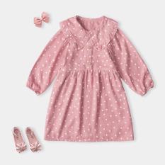 Váy Cho Bé Gái Trái Tim Nhiều Màu Thời Trang Cao Cấp