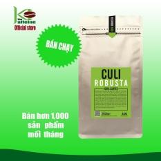 Cà phê Culi Robusta 1KG – Cafe Rang Xay Nguyên Chất – Gu Mạnh – The Kaffeine Coffee