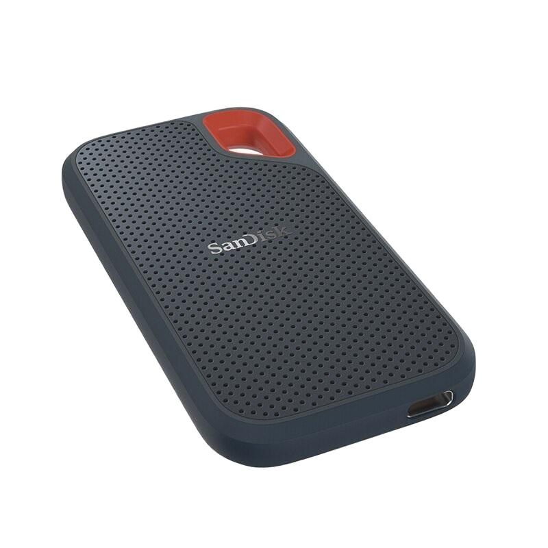 Ổ cứng di động SSD Sandisk Extreme Portable E60 USB 3.1 500GB 550MB/s (Đen) – Phụ Kiện 1986