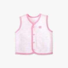 Áo gile 2 lớp sọc hồng – Miomio – Dành cho bé từ 0-24 tháng, cam kết hàng đúng mô tả, chất lượng đảm bảo, đa dạng mẫu mã, màu sắc, kích cỡ
