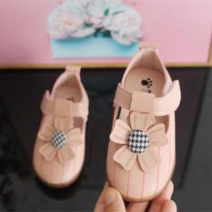 [Giày Bé Gái] Giày Búp Bê Tập Đi Cho Bé Gái 0-3 Tuổi – Giày hoa 516