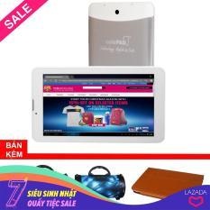 Máy tính bảng cutePad M7022 wifi/3G, 7″, 8GB (Trắng bạc)+Bao da Nâu+ Loa di động bluetooth cutePAD BS383 ngẫu nhiên- Hãng phân phối chính thức