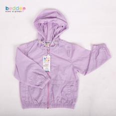 Áo khoác gió trơn Unisex Beddep Kids Clothes cho bé trai và bé gái từ 1 đến 8 tuổi U02
