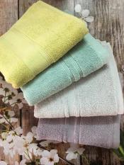 Bộ 04 khăn Cotton cao cấp Songwol (40*80cm – 04 màu)
