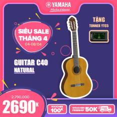 Đàn Guitar Classic Yamaha C40II/C40MII – CG shape, Spruce Top, Back & Side Tonewood, Xuất xứ Indonesia – Bảo hành chính hãng 12 tháng