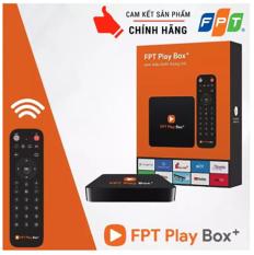 FPT Play Box 2019 Android TV + 4K Model S400 Có Khiển Tìm Kiếm Giọng Nói Tặng Gói Truyền Hình Miễn Phí 360 Ngày