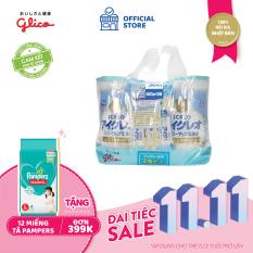 [TẶNG TÃ PAMPERS CHO ĐƠN 399K] CB Glico Icreo Follow up Milk số 1 gồm 2 hộp 820g & 5 thanh sữa tiện dụng (5 thanh x 13.6g) – 100% nội địa Nhật Bản – HSD tối thiểu 10 tháng