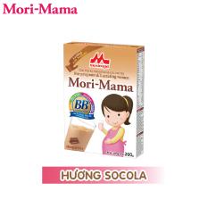 Sữa bầu Morinaga Mori-Mama dành cho phụ nữ thời kỳ mang thai và cho con bú – hương socola 200gr date T7/2021)
