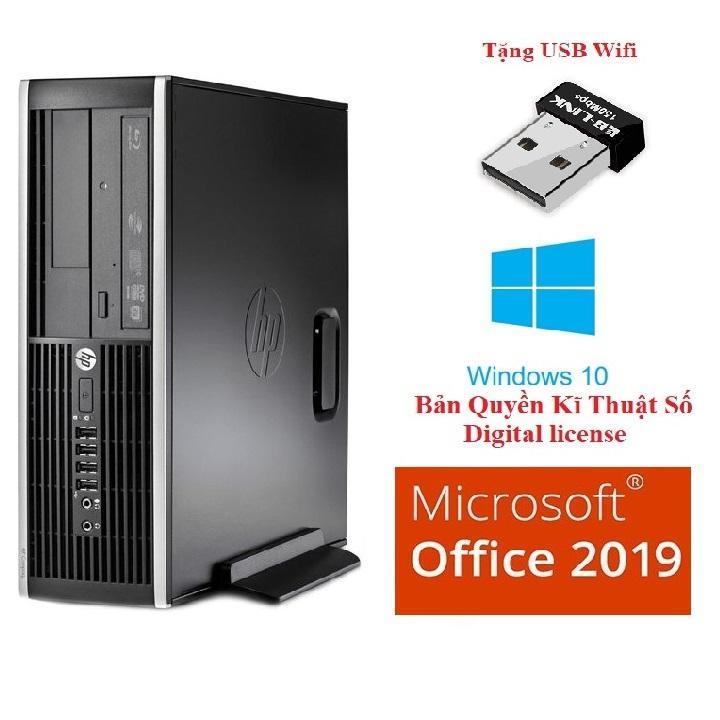 Cây máy tính để bàn siêu nhanh HP 6300 Pro Sff SSD01 CPU G620, Ram 4GB, SSD 128GB, DVD, tặng...