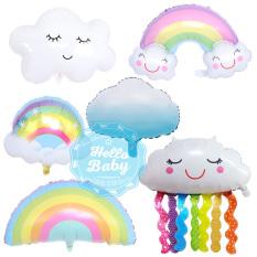 Bóng trang trí hình cầu vồng, đám mây các loại (size đại)
