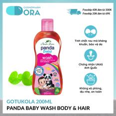 [Freeship Max – Tặng 1 chai nước hoa 50ml đơn từ 100K] Sữa tắm gội toàn thân cho bé Panda Baby Wash Body and Hair 100ml – 200ml