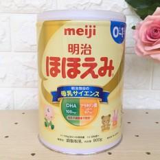 Sữa Meiji Nhật Bản Số 0 (800g) Cho Bé 0-1 tuổi
