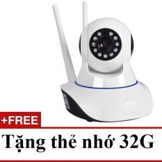 Camera IP/Wifi Yoosee 3 râu – Đàm thoại hai chiều tặng thẻ nhớ 32GB