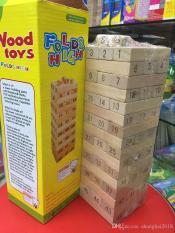Đồ chơi rút gỗ số loại lớn nhất