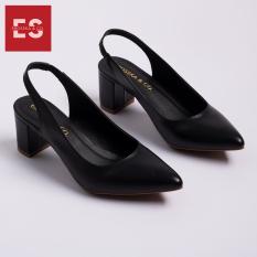 Giày cao gót nữ slingback Erosska thời trang nữ kiểu dáng basic EH015 (BA)