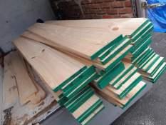 Thanh gỗ thông Dài x Rộng 100 x 20 cm