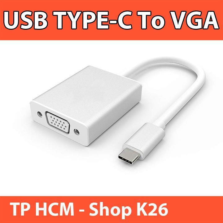 Cáp Chuyển Đổi USB Type C Sang VGA