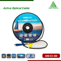 Cáp Active Opticail 4K – 3D HDMI 2.0V – 40m