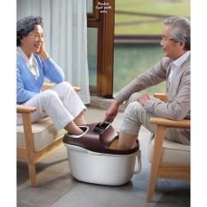 Máy ngâm massage chân YHK-999 cho 2 người có bánh xe