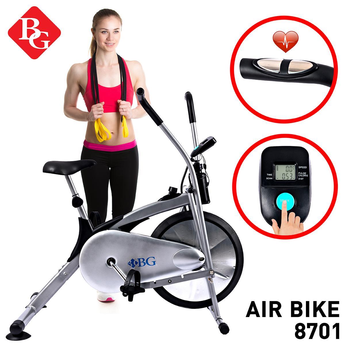 BG - Xe đạp tập thể dục Air bike Mẫu 8701 của năm 2019