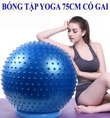 Bóng Tập Yoga Có Gai 75CM – giúp cho cột sống khỏe mạnh và dẻo dai hơn