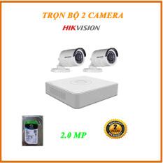 BỘ 2 CAMERA 2MP HIKVISION 16D0T-IRP – Camera công nghệ 4.0