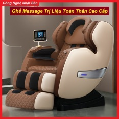 Ghế Massage Toàn Thân Trục SL Công Nghệ Nhật Bản – Ghế Massage Trị Liệu Toàn Thân Cao Cấp, Ghế Matxa Toàn Thân Công Nghệ Mới, Máy Massage Toàn Thân Trục SL Đa Năng