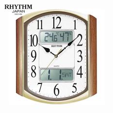 Đồng hồ treo tường Rhythm CFG708NR06 Value Added Wall Clocks (Nâu)