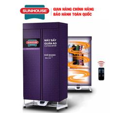 Tủ sấy quần áo Sunhouse SHD2707 – Công suất 1500W, Điều khiển từ xa