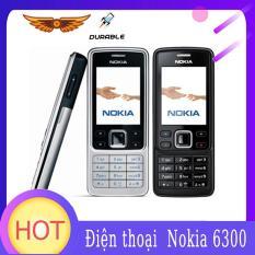 Điện thoại Nokia 6300 đã mở khóa điện thoại thông minh Tri-Band đa ngôn ngữ tiếng Nga và tiếng Ả Rập , cổ điển giá rẻ