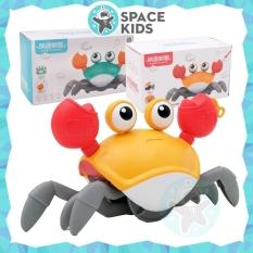 Đồ chơi cho bé Space Kids Con cua dắt bộ, đi dạo có dây kéo, bơi lội thả nhà tắm cho trẻ em, chất liệu nhựa ABS an toàn cho bé