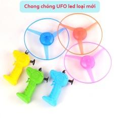 ( NEW ) Đồ Chơi, Chong Chóng Giựt, UFO Có Đèn Led Phát Sáng khi quay Cực Đẹp.