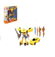 Đồ chơi rô bốt biến hình thành xe ô tô L015 – đồ chơi robot , đồ chơi trẻ em điều khiển