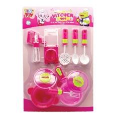 Bộ đồ chơi dụng cụ nấu ăn cơ bản Kitchen Set