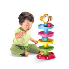 Đồ chơi xếp tháp thả bóng 5 tầng Huanger HE0205