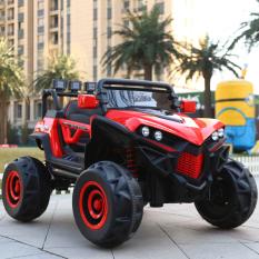 [Siêu siêu rẻ] Xe ô tô điện 4 động cơ 2 chỗ ngồi XJL-588 (có quạt gió) – xe ô tô điện trẻ em – ô tô điều khiển từ xa