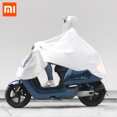 Xiaomi Qualitell EVA Raincoat Bicycle Waterproof Hood Poncho Rainwear Hooded For Scooter Motorcycle Bike Men Women Rain Cover