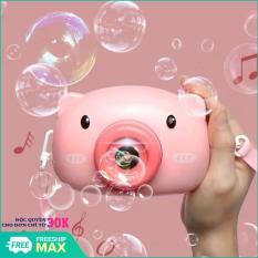 Đồ chơi cho trẻ, Máy thổi bong bóng xà phòng quà tặng dễ thương cho bé – may anh thoi bong bong, máy thổi bong bóng heo hồng, Đồ chơi cho bé-May thoi bong bong-Quà tặng ý nghĩa cho bé yêu
