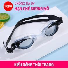 Kính bơi chống tia UV hạn chế sương mờ Y2005 POPO mắt kính bơi trong suốt, ngăn nước tuyệt đối