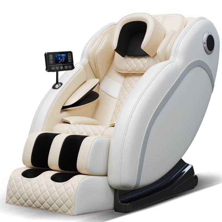 Ghế massage thư giãn toàn thân, kết nối âm thanh Bluetooth, máy massage trị liệu điều khiển bằng màn hình cảm ứng