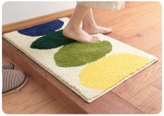 Thảm chân siêu mịn và êm kích thước rộng 45x65cm_Colorful leaf